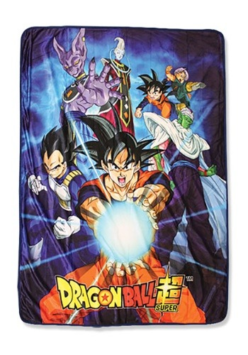 Dragon Ball Super Group 6 Sublimation Throw Blanket