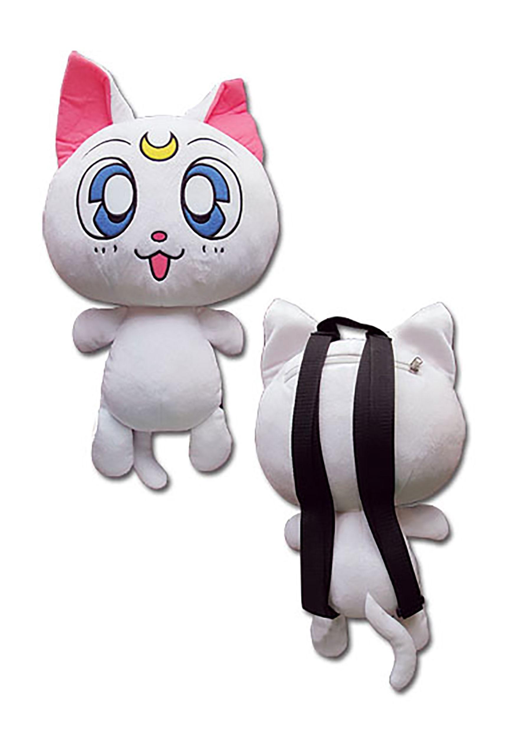 Sailor moon artemis 125 plush bag