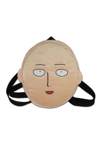 One Punch Man Saitama Face Plush Bag