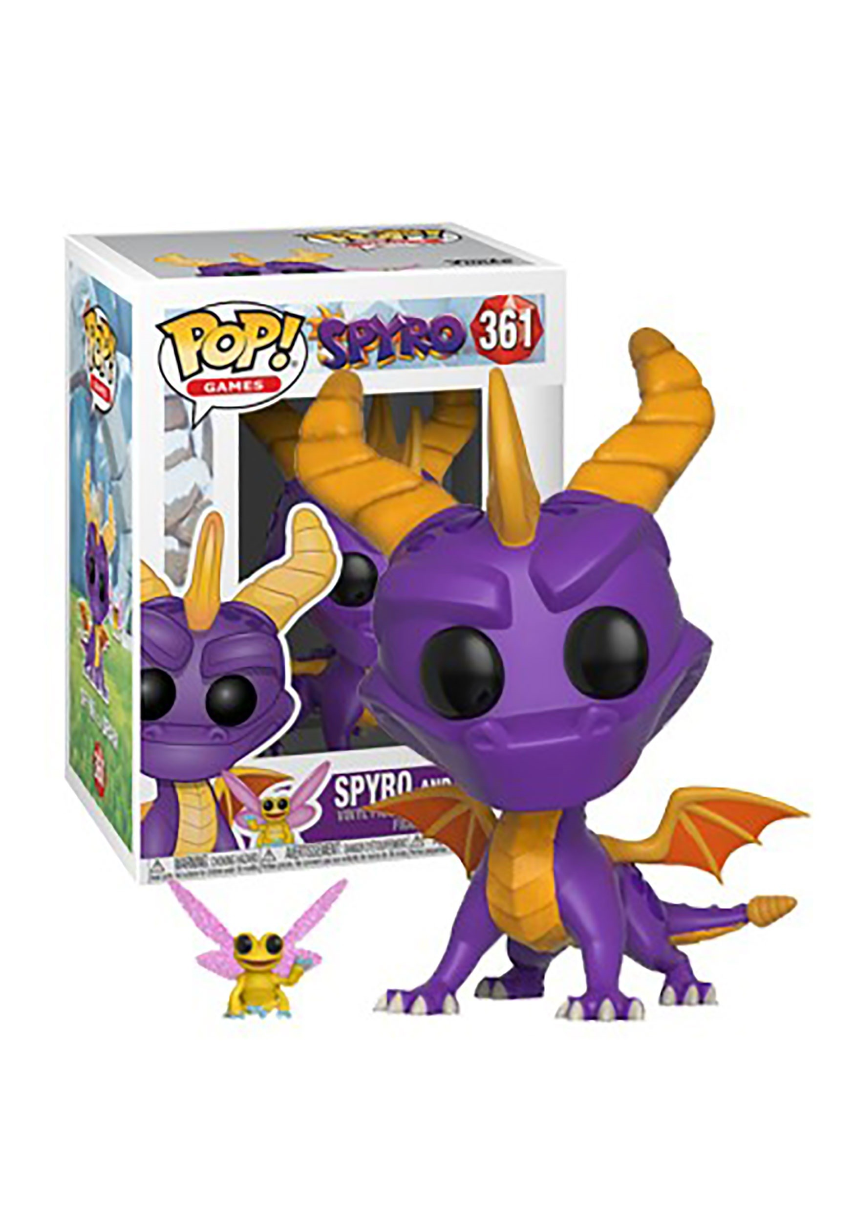 Spyro The Dragon Amp Sparx Pop