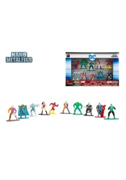 DC Comics Nano Metal Figures 10-Pack