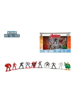 Marvel Comics Nano Metal Figures 10-Pack