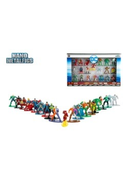 DC Comics Nano Metal Figurines 20 Pack