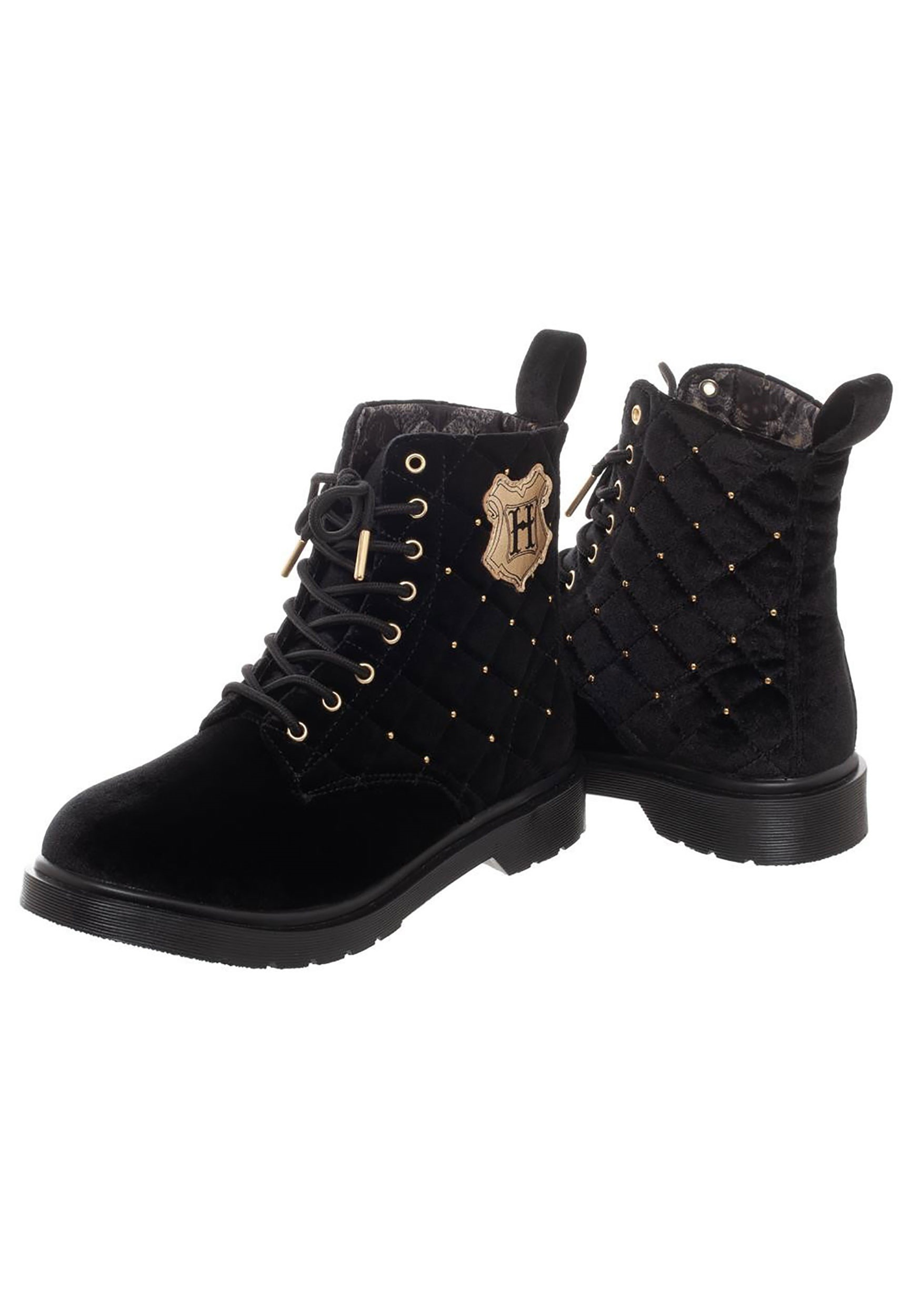 66365ecba5 Harry Potter Quilted Boots for Women