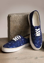 Harry Potter Blue Womens Canvas Shoes Update Main2
