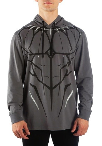Men's Black Panther Cosplay Pullover Sweatshirt