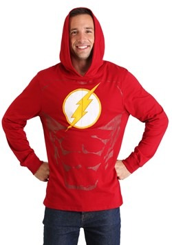 Men's The Flash Cosplay Light Weight Hoodie