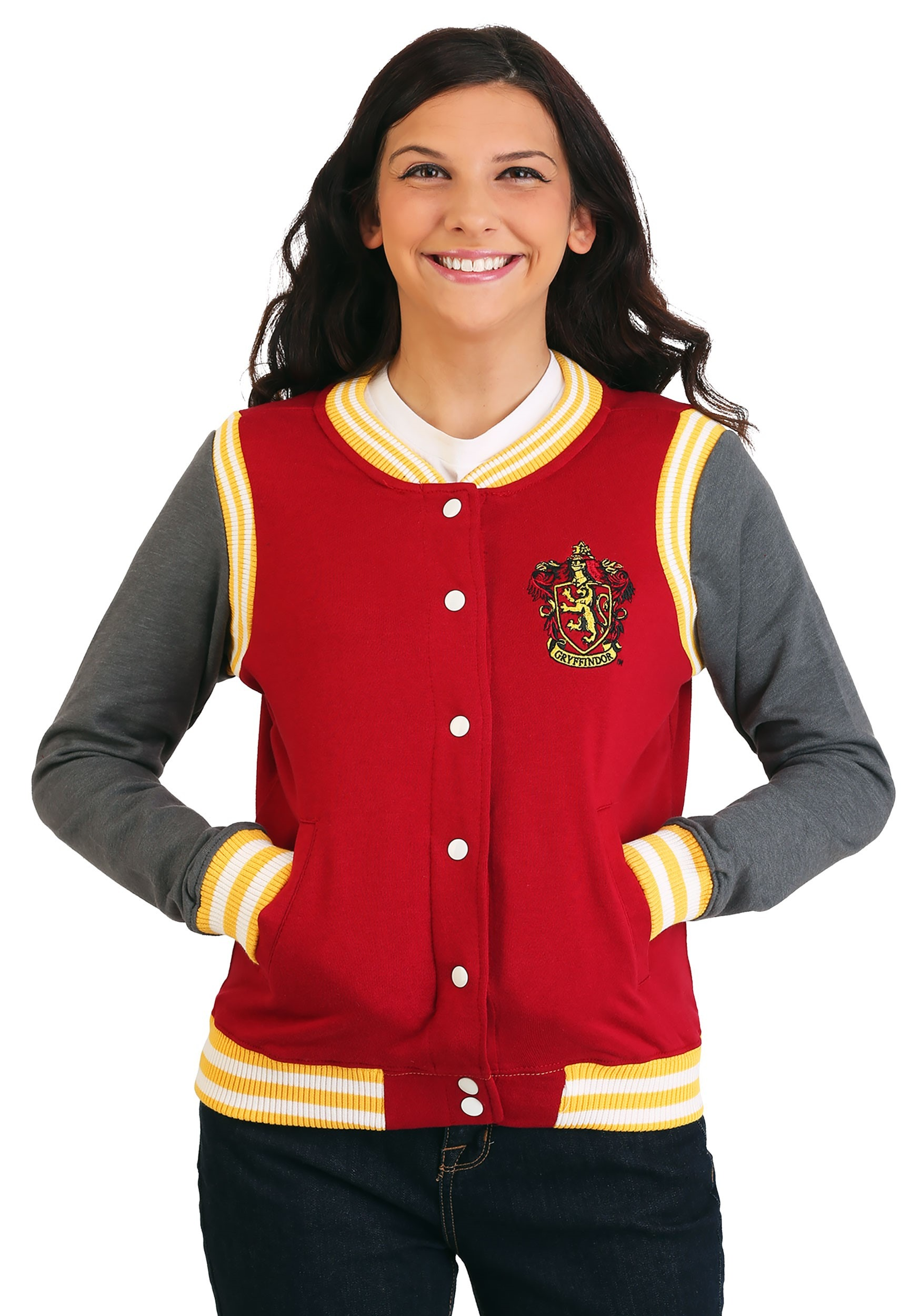Harry Potter Gryffindor Womens Varsity Letterman Jacket