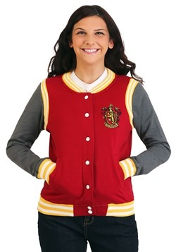Women's Harry Potter Gryffindor Varsity Jacket Update Main