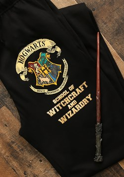 Harry Potter Hogwarts Crest Black Lounge Pants Update