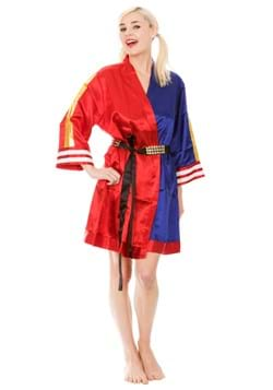 Harley Quinn Suicide Squad Cosplay Satin Robe Upd