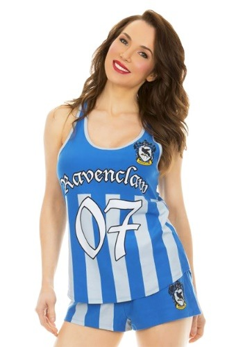 Harry Potter Ravenclaw Varisty Cami and Short Sleeve Set