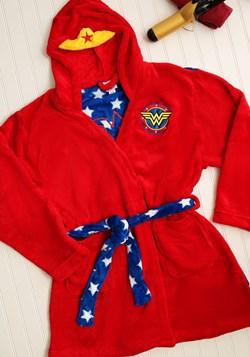 Wonder Woman Hooded Plush Robe Update