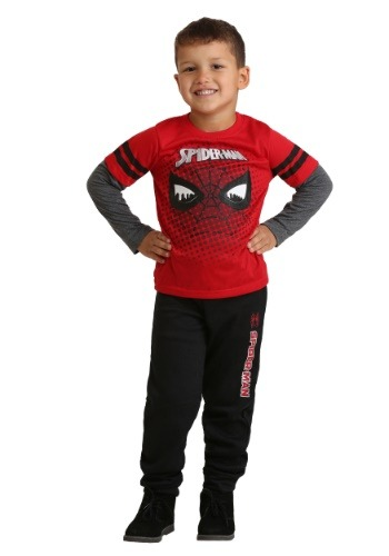 Kids Spiderman Loungewear Set