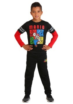 Kids Super Mario Loungewear Set