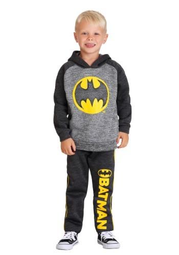 Boy's Kids Batman Pullover Hoodie Sweatshirt and Pant Set