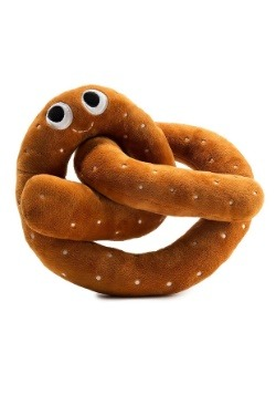 Yummy World Hans the Pretzel Medium Plush