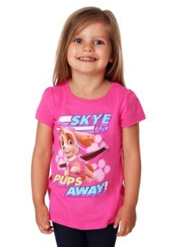Girl's Toddler Paw Patrol Pups Away Skye T-Shirt