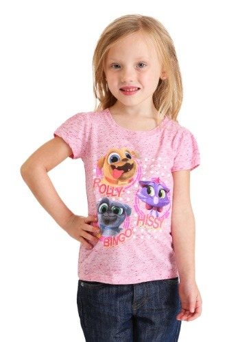 Toddler Puppy Dog Pals Characters T-Shirt