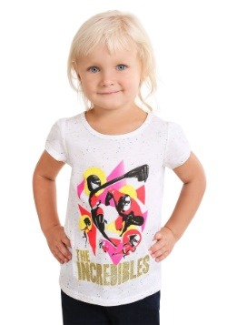 Girls Toddler Disney Pixar The Incredibles T Shirt