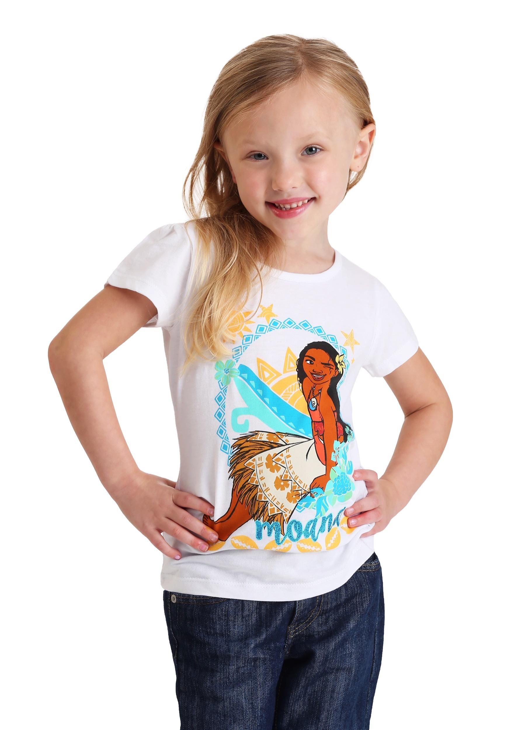 47904da886f Girl s Toddler Moana Decorative T-Shirt