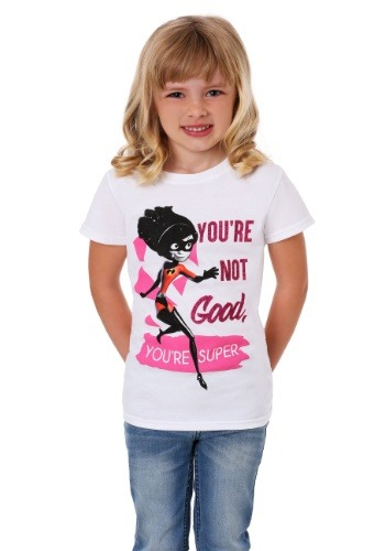 Girl's Incredibles Violet Be Your Own Superhero T-Shirt