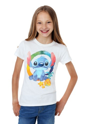Girl's Lilo and Stitch Ohana T-Shirt