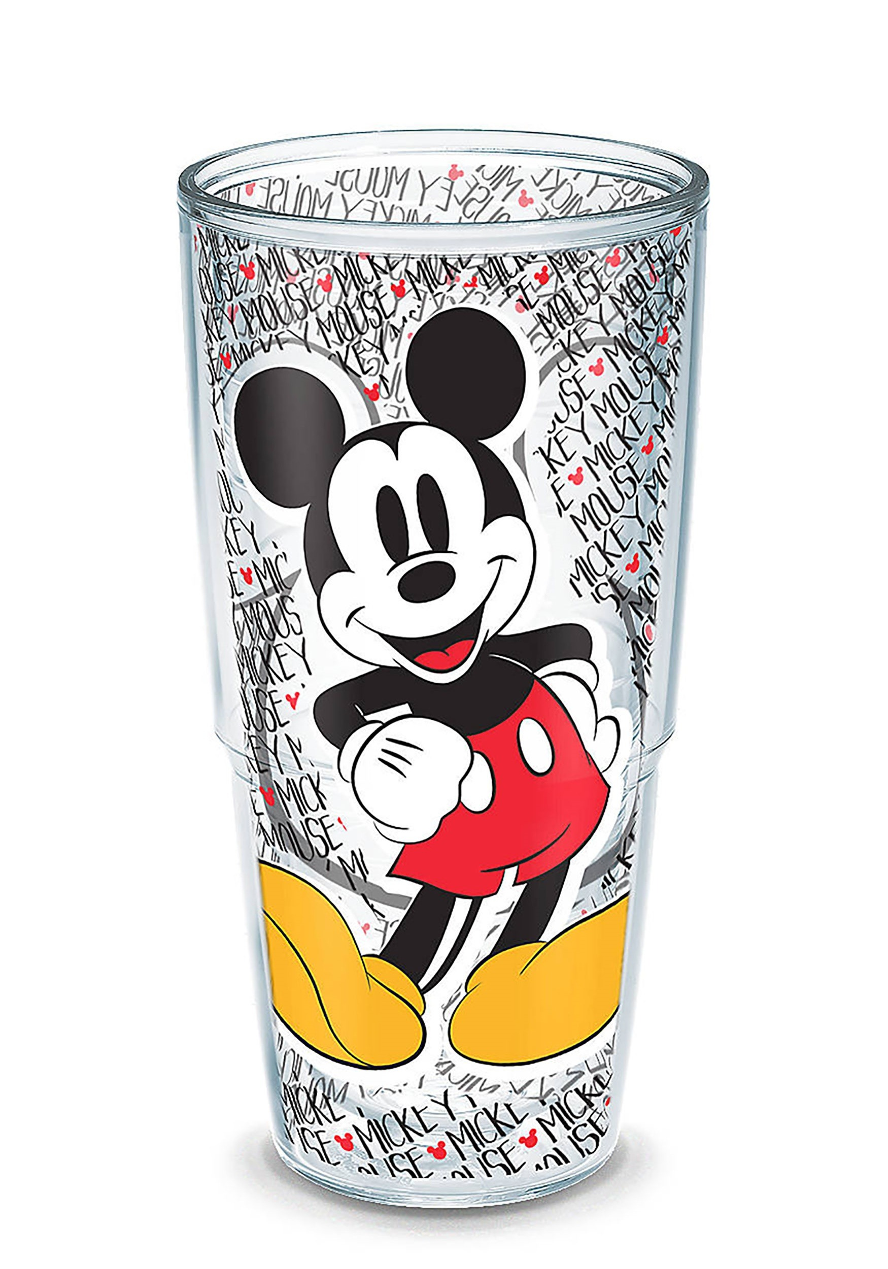 24oz Tervis Disney Mickey Mouse Name Pattern Tumbler