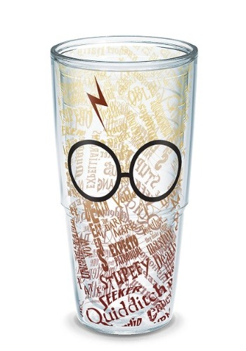 Tervis Harry Potter Glasses and Scar 24oz Tumbler