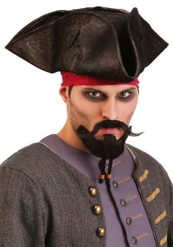 Savvy Pirate Beard and Mustache