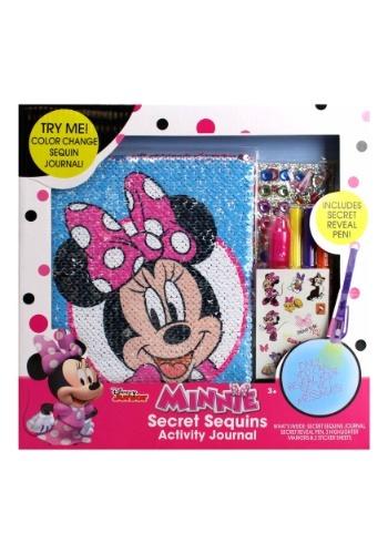 Minnie Mouse Secret Sequins Activity Journal
