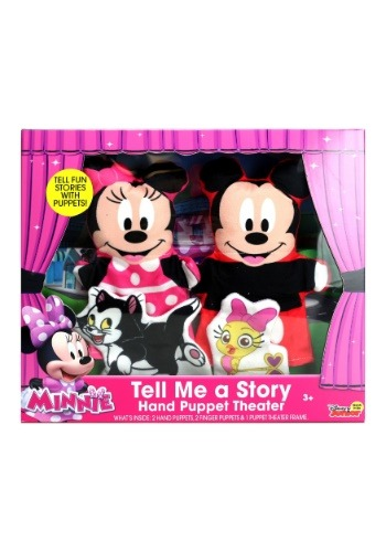 Minnie & Mickey 4 Pack Hand Puppets