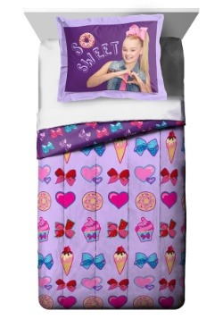 Jojo Siwa Sweet Life Twin Full Comforter with Sham