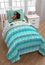 Moana The Wave Twin Comforter with Sham