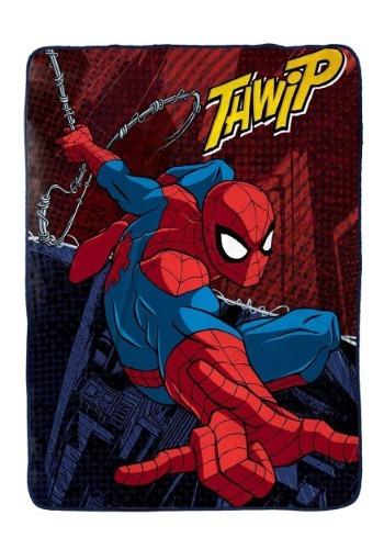 Spiderman Burst Coral Fleece Blanket