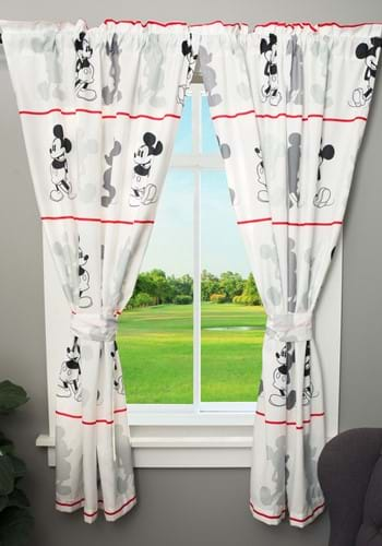 """Mickey Mouse Jersey 63"""" Drapes-update"""