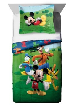 Mickey Mouse Adventure Twin Comforter Set w/ Sham