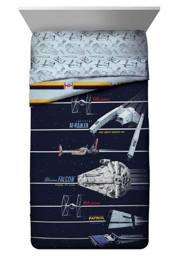 Star Wars Han Solo Vehicle Stripe Twin Comforter
