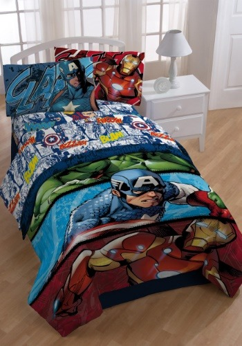 Avengers Publish Twin Sheet Set