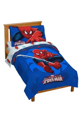 Spiderman Regulator Toddler Bed Set