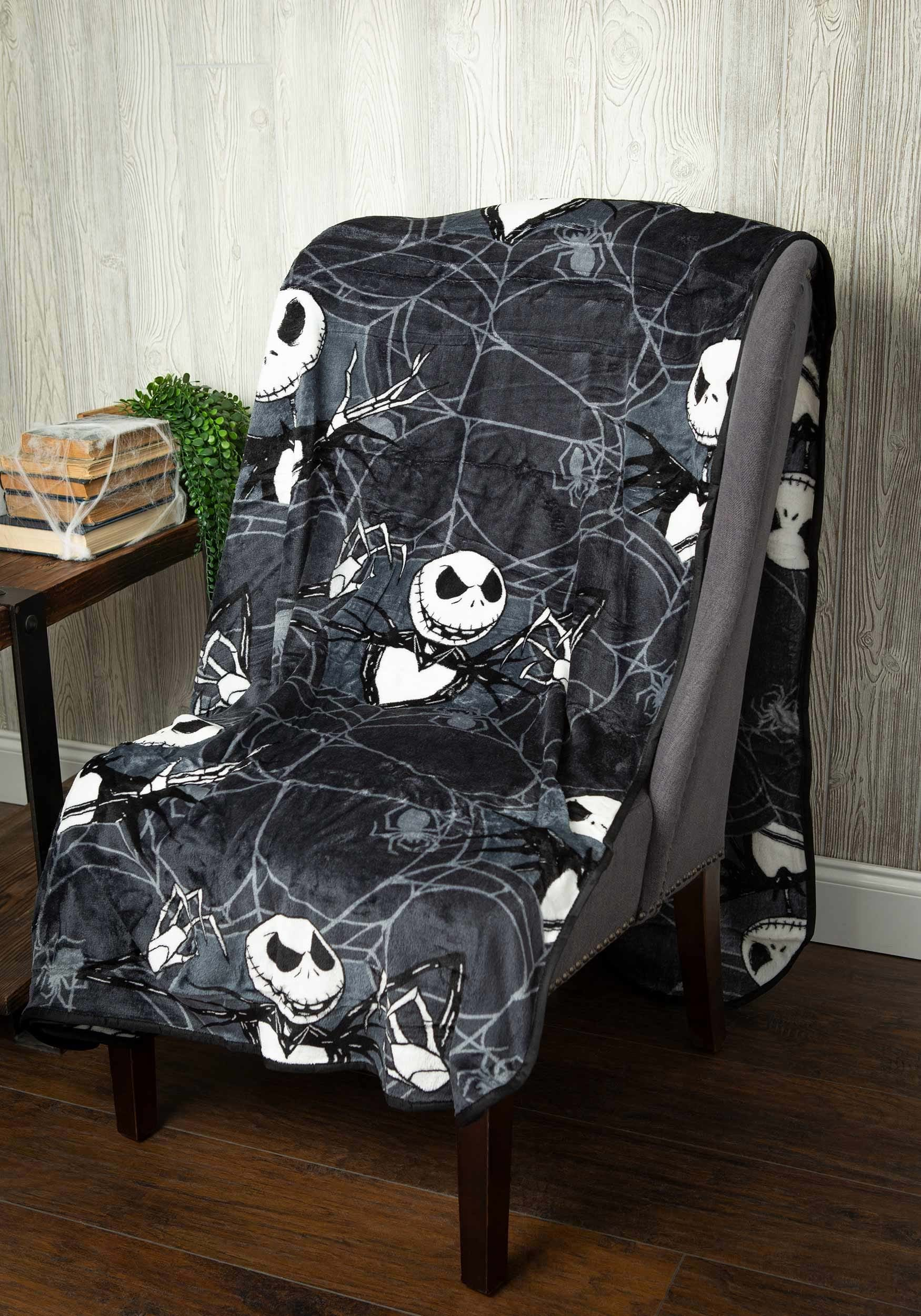Jack Skellington Nightmare Before Christmas Blanket