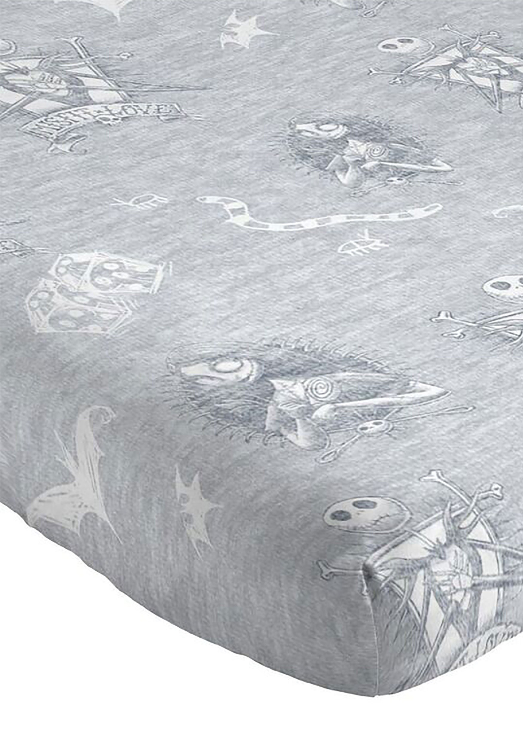 Nightmare Before Christmas Meant To Be 4-Piece Queen Sheet Set