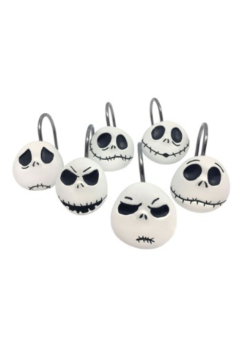 NBC Jack Skellington 12 Piece Shower Curtain Hooks