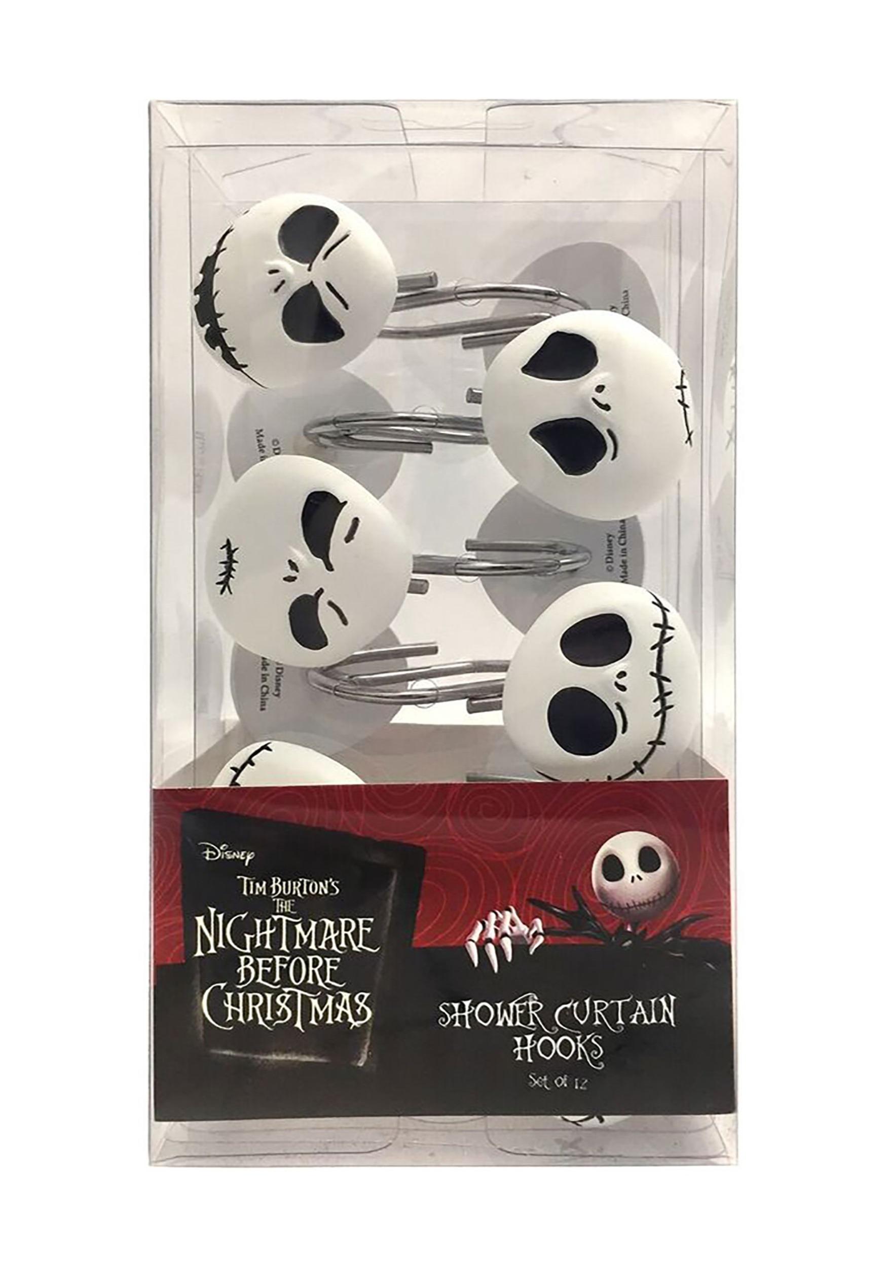 Nightmare Before Christmas Jack Skellington 12 Piece Shower
