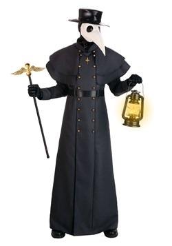 Plus Size Classic Plague Doctor Costume