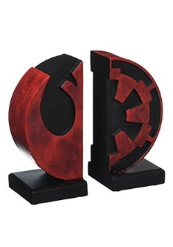 Star Wars Imperial/Rebel Bookends