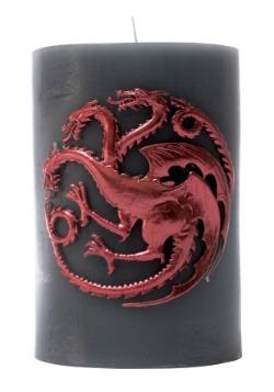 Game of Thrones Targaryen Sigil Insignia Candle