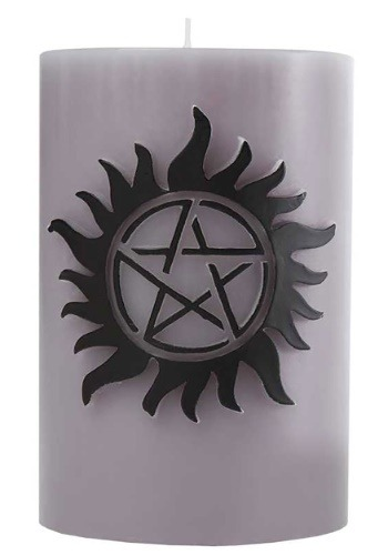 Supernatural Sculpted Insignia Candle