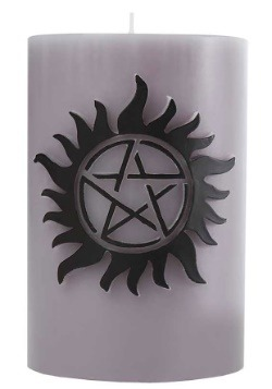 Supernatural Sculpted Insignia Candle