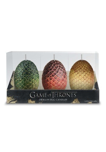 Game of Thrones Sculpted Dragon Egg Candles